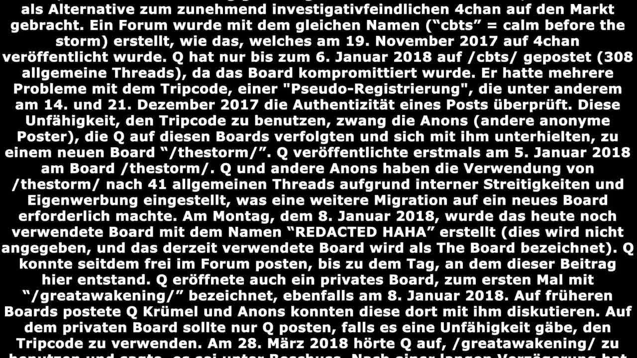Q Basics - Grundlagen ber QAnon auf deutsch Teil 1/2